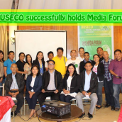 BUSECO successfully holds Media Forum